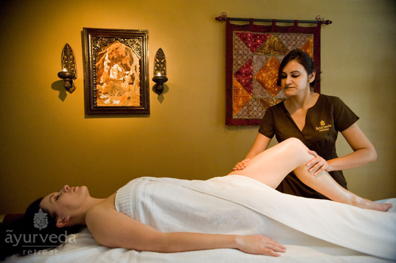 Abhyanga massage