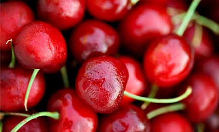 Nutrient rich cherries