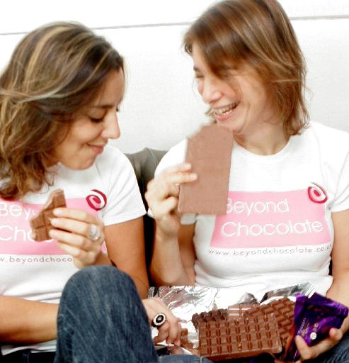 Sophie & Audrey Boss Founders of Beyond Chocolate