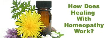How does Healing with Homeopathy work?